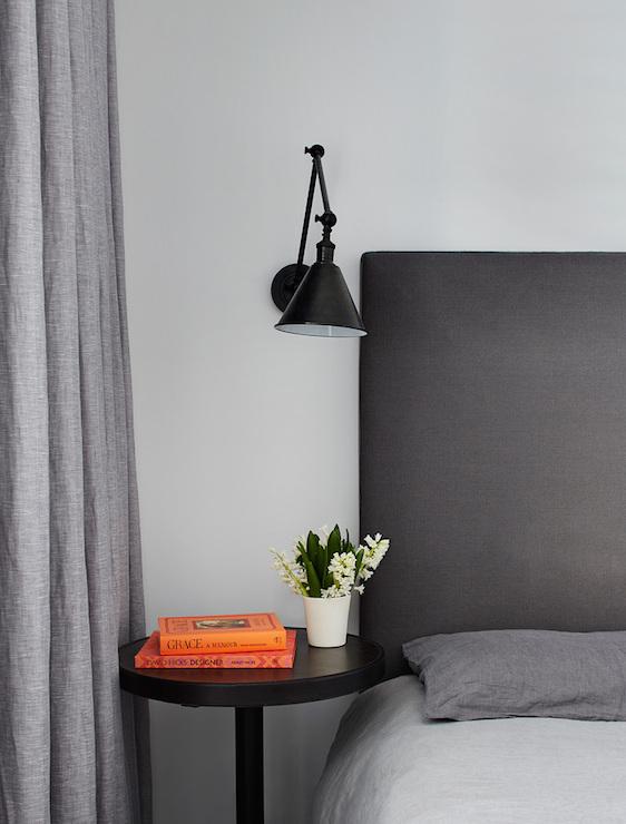 Monochromatic Bedroom Transitional Bedroom