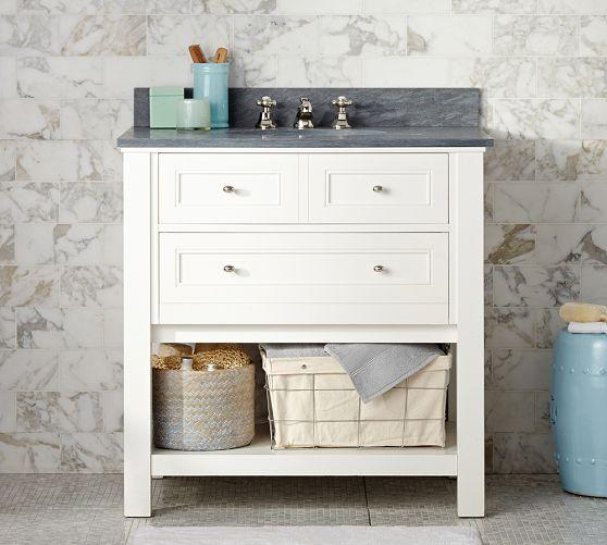 Weathered Oak Single Console Sink Weathered Oak