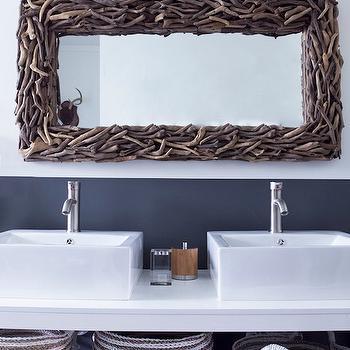 Two Tone Walls. Two Tone Vanity   Contemporary   bathroom   Phoebe Howard