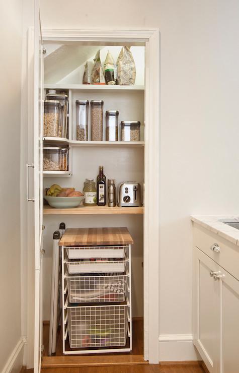 Kitchen Pantry Ideas Transitional Kitchen Aidan Design