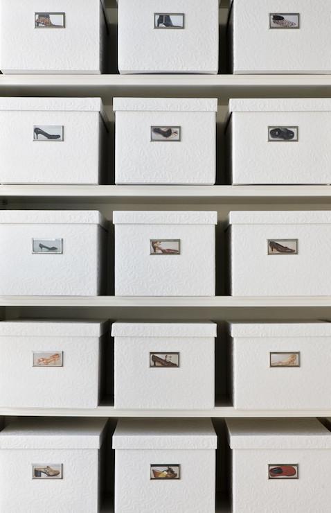 Polaroid On Shoe Box