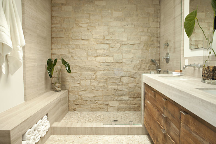 Zen Bathroom Transitional Bathroom Eric Olsen Design