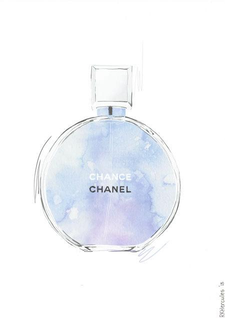 Purple Chanel Chanel Chance Purple And Blue