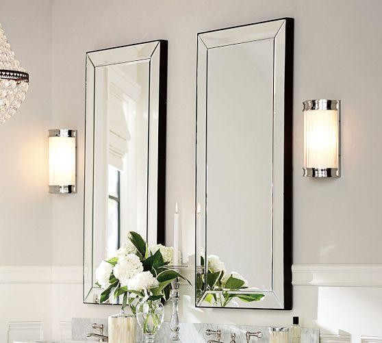 Pottery barn astor floor mirror
