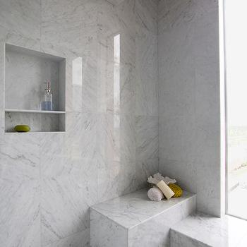 Gray Marble Shower Tiles - Design, decor, photos, pictures ...