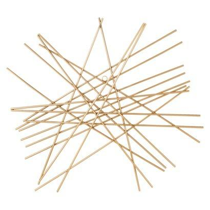 Nate Berkus Gold Starburst Wall Decor