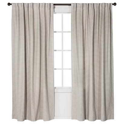 Nate berkus linen weave window panel i target for Nate berkus window treatments