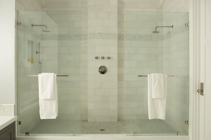 Bathroom Ideas With Double Shower : Dual shower transitional bathroom eric olsen design