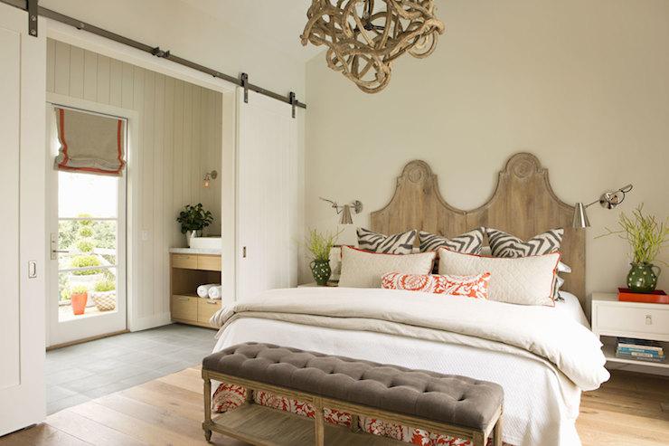 Zebra Bench Transitional Bedroom Decesare Design Group