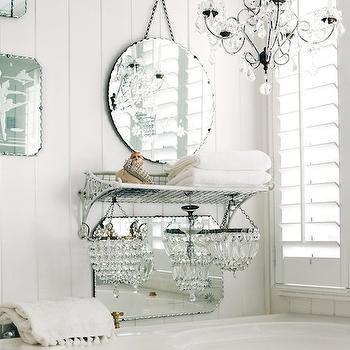Corner Bathtub, Cottage, bathroom, Kara Rosenlund