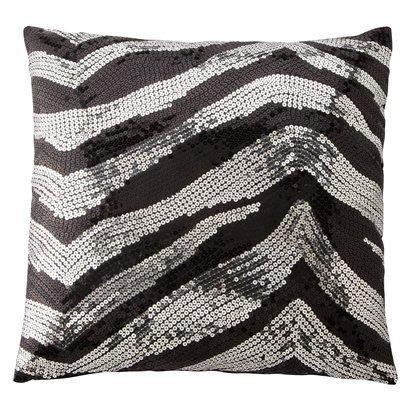 Xhilaration Black And Silver Sequin Decorative Pillow Best Silver Sequin Decorative Pillow