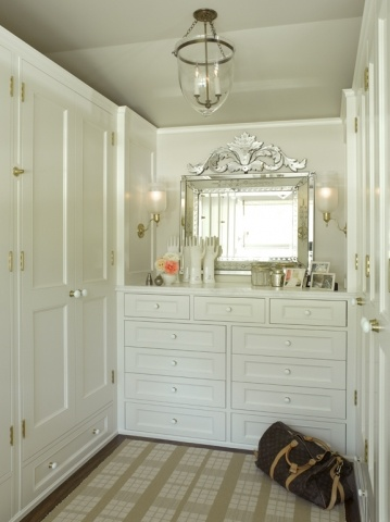 Built In Dresser Transitional Closet Rebecca Bradley