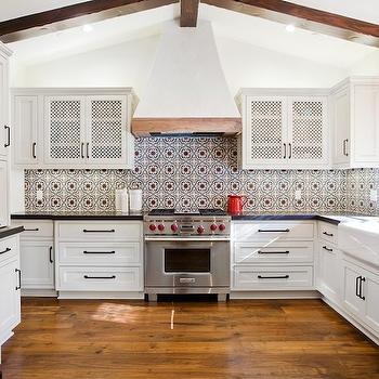 Spanish Tiles Transitional Kitchen Tom Scheerer
