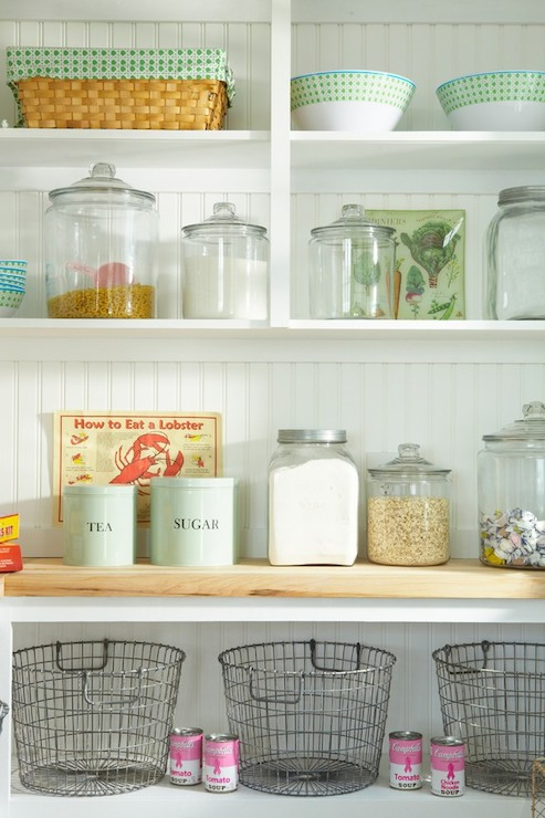 Pantry Shelves Cottage Kitchen Tracey Rapisardi Design