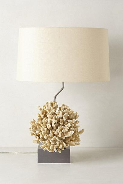 Atoll ivory coral table lamp mozeypictures Images