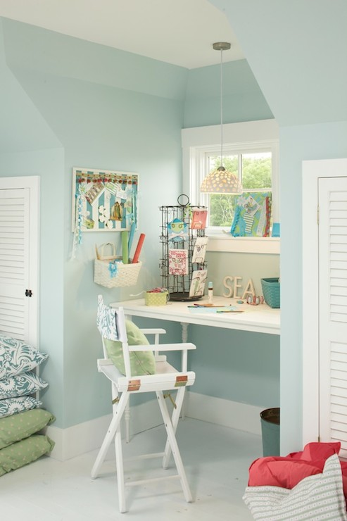 built in desk cottage den library office tracey rapisardi design