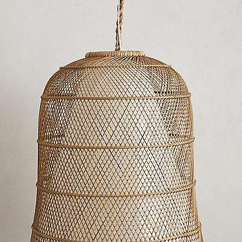 Natural Woven Rattan Pendant Light Kirkland S