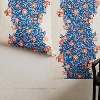 Morning Glory Wallpaper I anthropologie.com