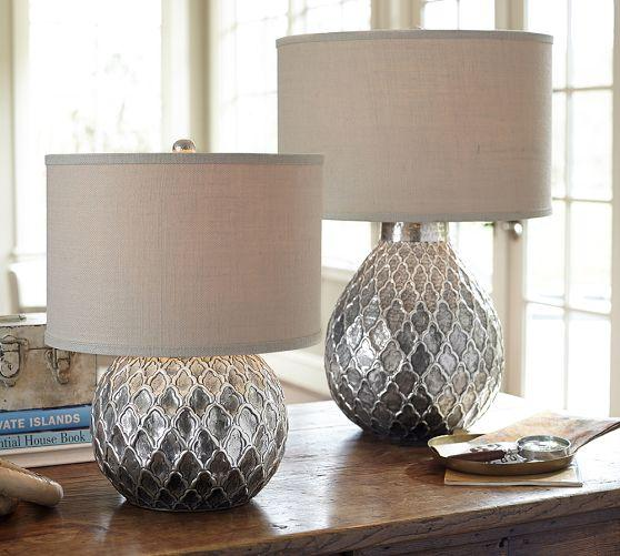 decorate lamp ideas silver table amazing lamps design