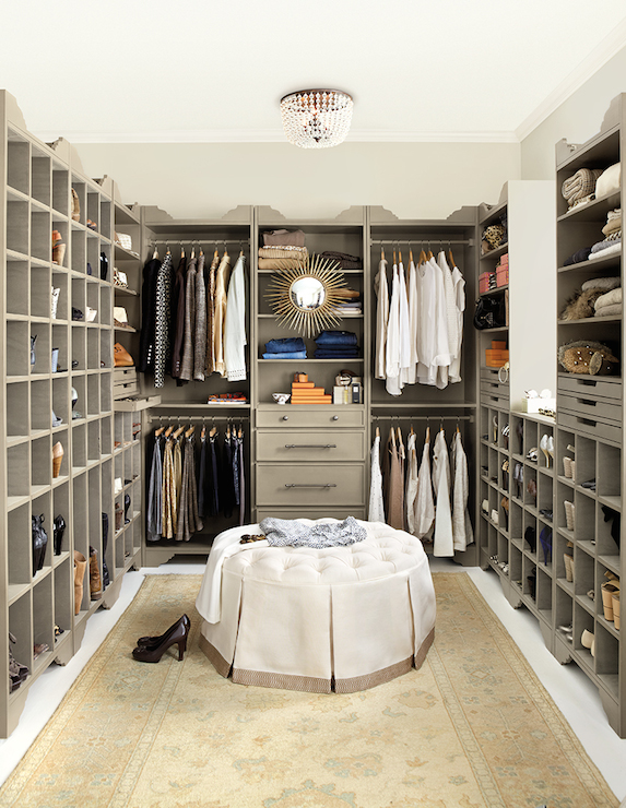 Walk in Closet with storage for Shoes and Handbags ... |Purse Big Closets