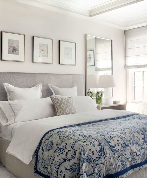 Gray And Blue Bedrooms