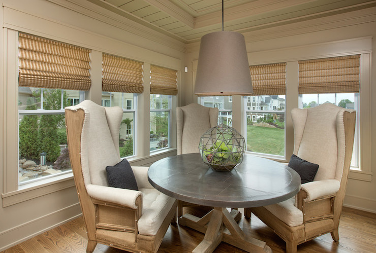 Round Dining Room Table With Storage