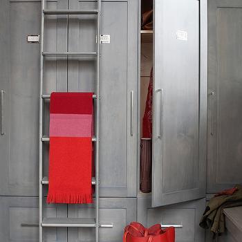 Closet Ladder, Contemporary, closet, Leo Designs Chicago