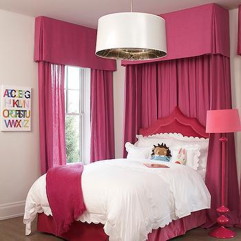Hot Pink Curtains Design Ideas