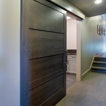 Laundry rooms hallway window design ideas for Sliding laundry door