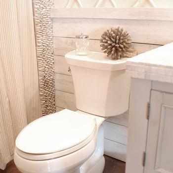 Gray Cottage Bathrooms, Cottage, bathroom, Benjamin Moore Maritime White, DIY Diva