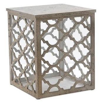 tables moroccan trellis end table