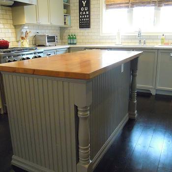 Bedford Gray, Transitional, kitchen, Martha Stewart Bedford Gray, Chris Kaufmann