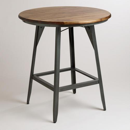 Belmont Black High Dining Table Crate And Barrel