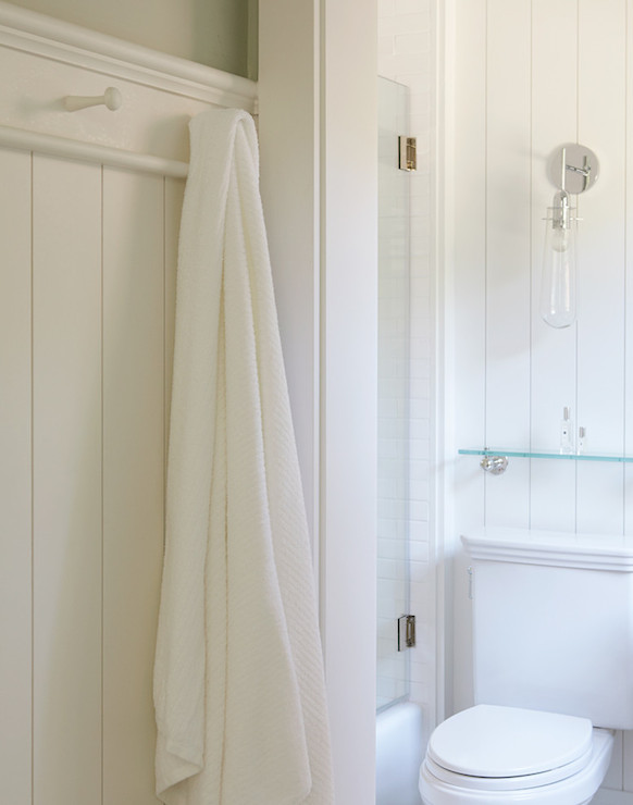 Raindrop Sconce Cottage Bathroom Rasmussen Construction