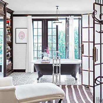 Mediterranean Bathroom, Mediterranean, bathroom, House Beautiful