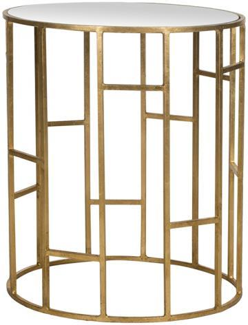 Diana Gold Accent Table