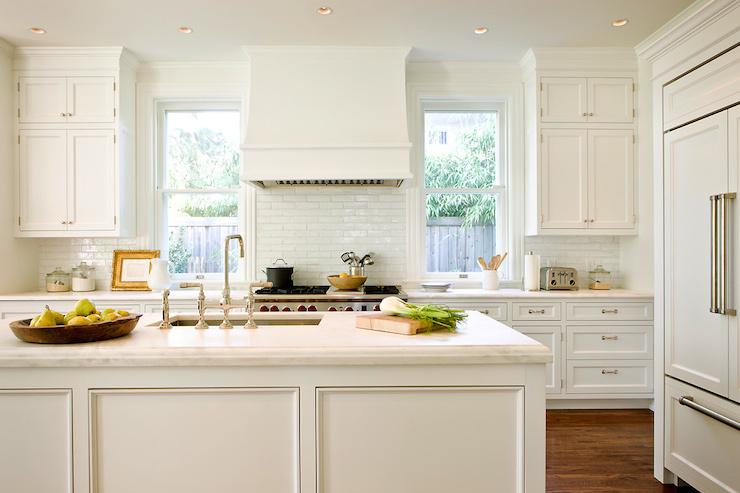 Window Next To Chimney Hood ~ Interior design inspiration photos by anne decker architects