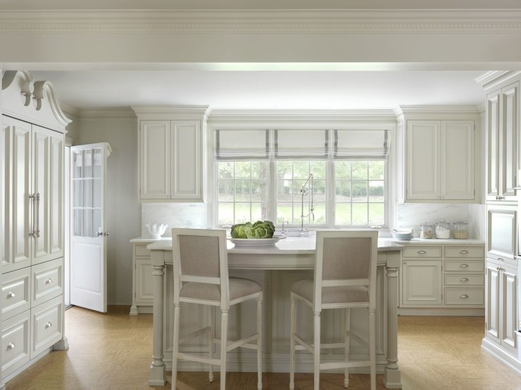 Fabulous Antique White Cabinets Transitional Kitchen Amy Interior Design Ideas Gentotryabchikinfo