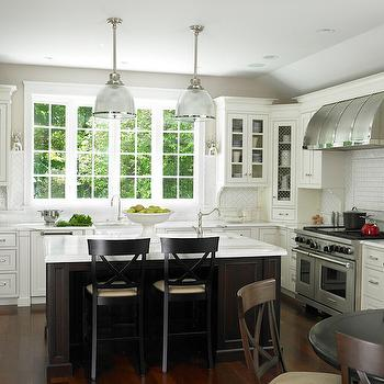 Two Tone Kitchens, Traditional, kitchen, Christine Donner Kitchens