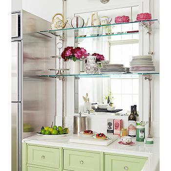 kitchen mirror backsplash design ideas