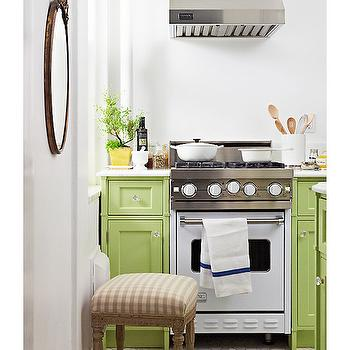 Stainless Steel Cooktop Shelf Cottage Kitchen Bhg