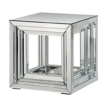 'Side Table' Mirror Accent Table, Overstock.com