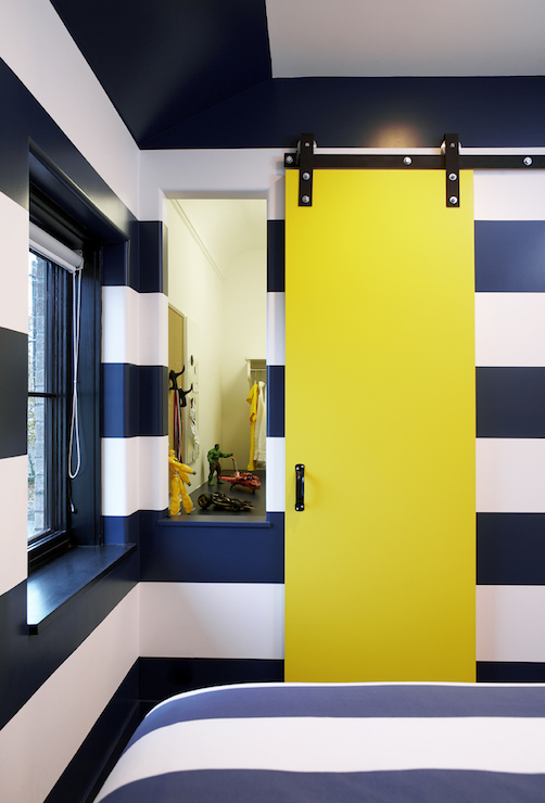 Navy Blue Girls Room Walls Design Ideas