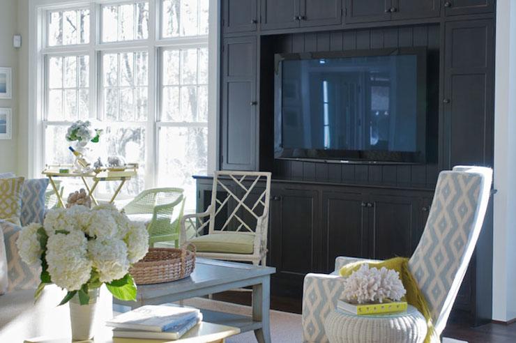 built in media cabinet transitional living room leo designs chicago. Black Bedroom Furniture Sets. Home Design Ideas