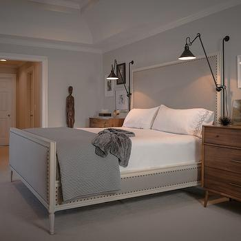 Tall Headboards, Transitional, bedroom, Beckwith Interiors