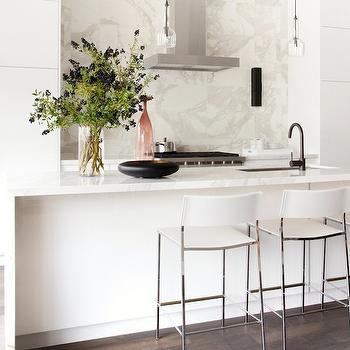 String Lights Above Kitchen Cabinets : Claremont Chandelier - Contemporary - kitchen - Melissa Miranda Interior Design
