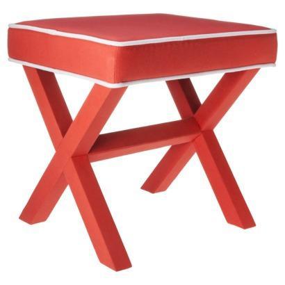 Swell Threshold X Base Coral White Ottoman Beatyapartments Chair Design Images Beatyapartmentscom