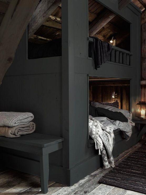 Built In Attic Bed Design Ideas