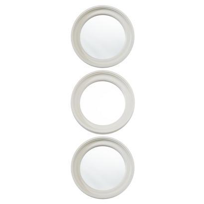 Threshold Ivory Round Mirror 3 Pack