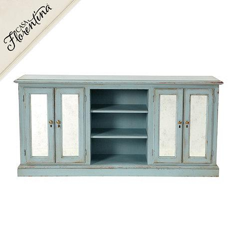 Deepwater Distressed Blue Console